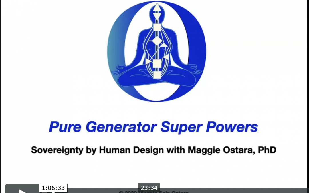 Pure Generator Super Powers