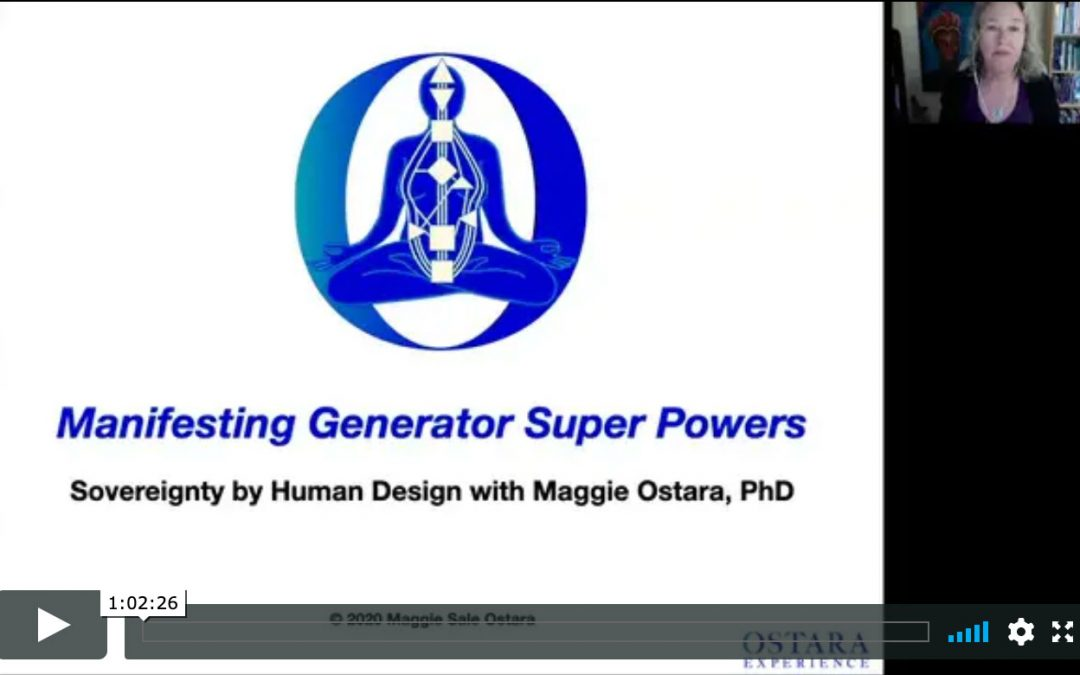 Manifesting Generator Super Powers